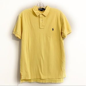 Polo by Ralph Lauren Logo Yellow Polo Shirt